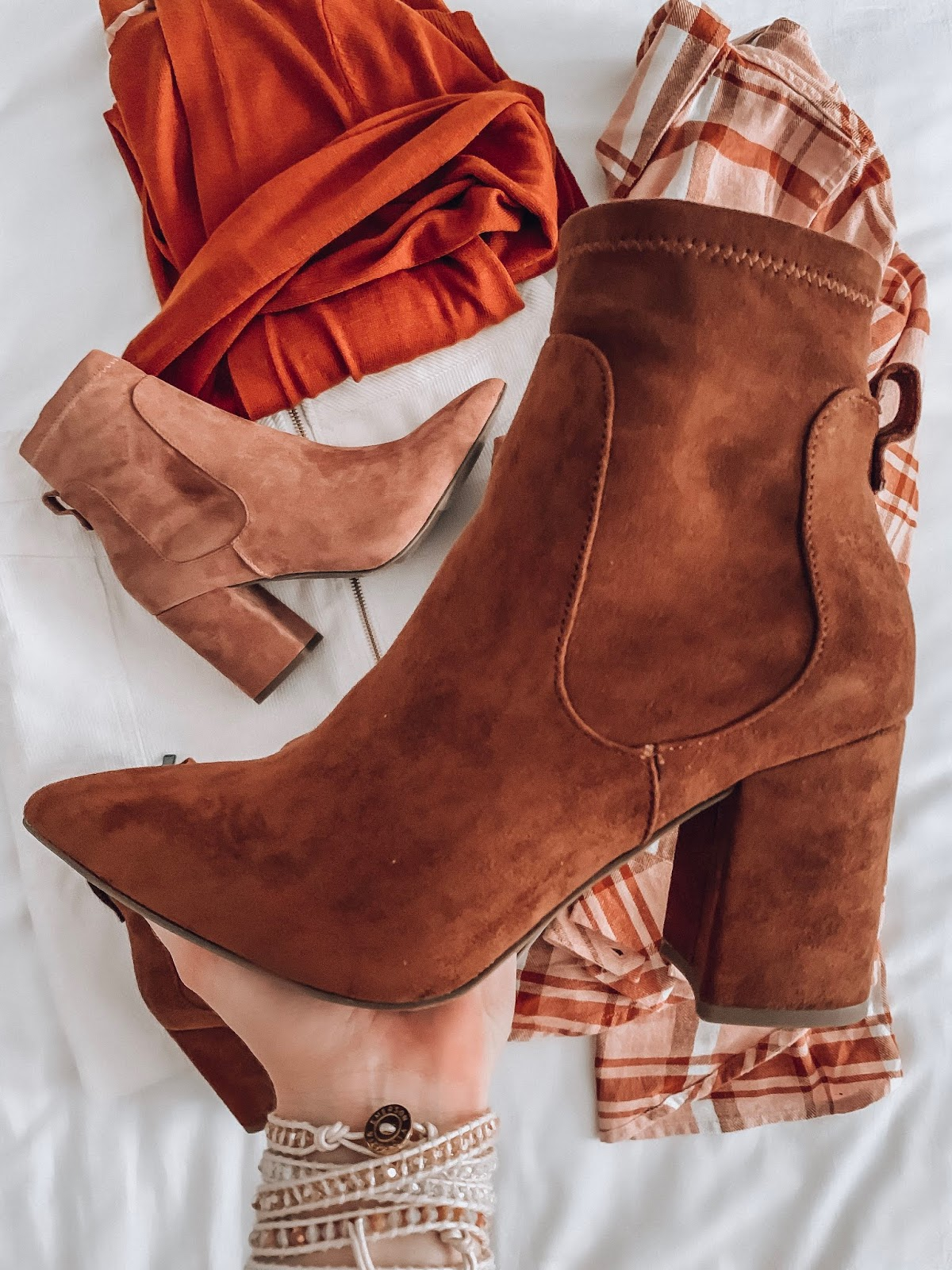 Target Fall Finds: Part Three - Target Style Pointed Toe Sock Booties Under $40 - Something Delightful Blog #FallStyle #TargetStye