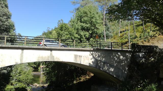 Ponte Rodoviária sobre o Rio Homem
