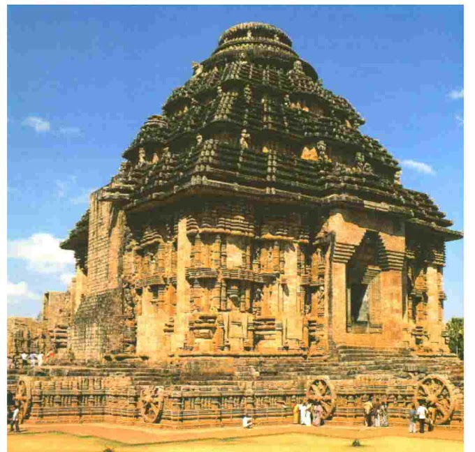 The Konark Sun temple of Odisha visit to a place of historical importance