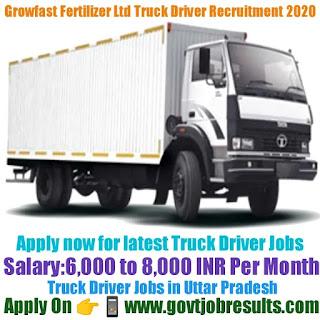 Growfast Fertilizer Ltd Truck Driver Recruitment 2020-21