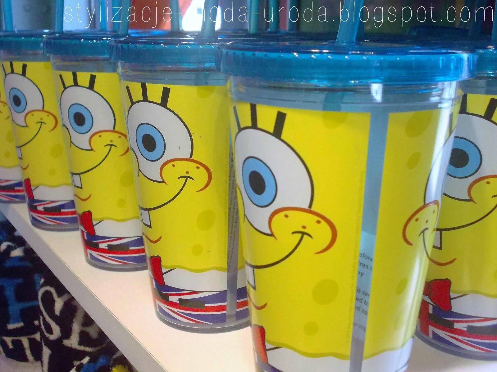 spongebob kubki
