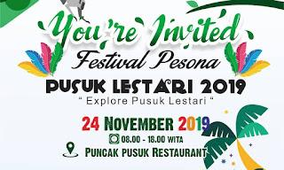 Crop banner Festival Pesona Pusuk Lestari 2019
