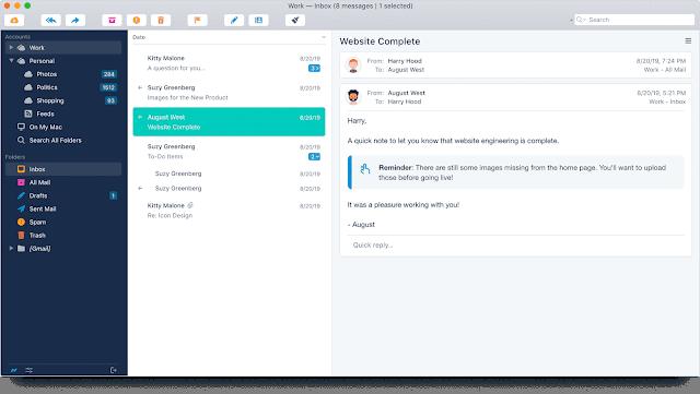 Screenshot Postbox 7.0.6 Full Version
