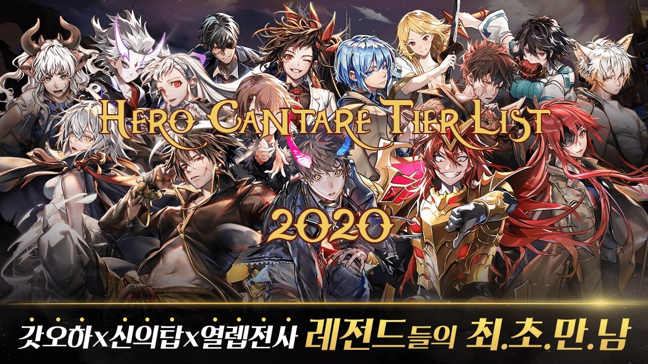 Hero Cantare Tier List 2020