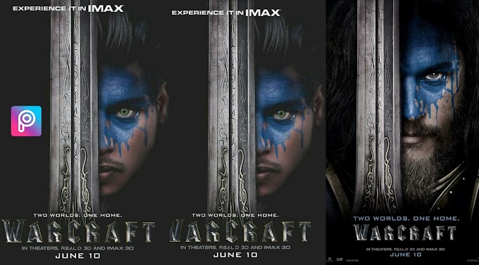 PicsArt Creative Photo Manipulation Warcraft Movie Poster Editing Toturial