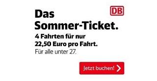 德鐵夏季青年通票最詳盡使用及購票教學攻略|DB Sommer-Ticket|2020年決定版