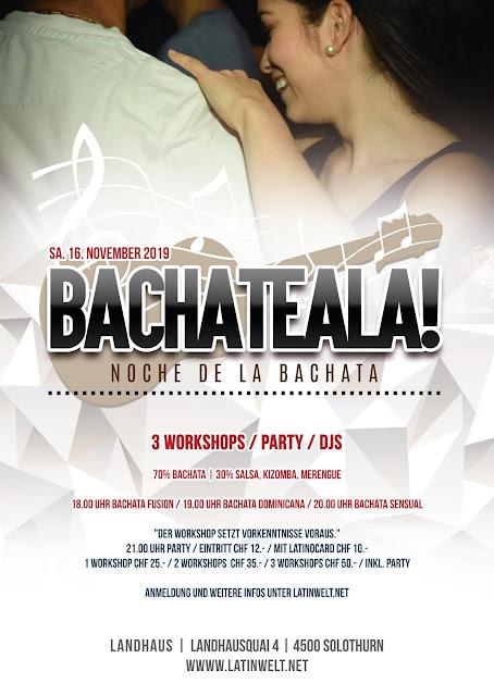 BACHATEALA | SA. 16. NOVEMBER
