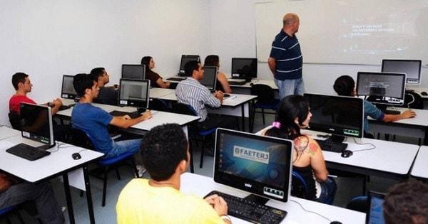 FAETEC oferece vagas para Cursos Profissionalizantes Gratuitos no Rio de Janeiro