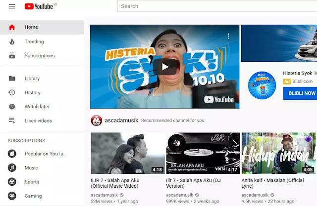 Itu menjadikan YouTube salah satu dari 10 situs teratas Web global rank saat itu, hal ini juga menjadi titik sejarah dimana Youtube menjadi salah satu situs web paling cepat berkembang dalam sejarah internet.
