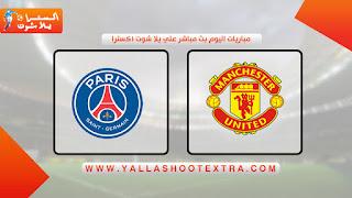 نتيجة مباراة باريس سان جيرمان ومانشستر يونايتد اليوم 20-10-2020 في دوري أبطال أوروبا