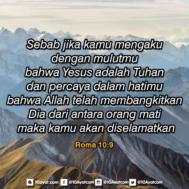 Roma 10:9