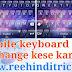 Mobile keyboard size change kaise kare