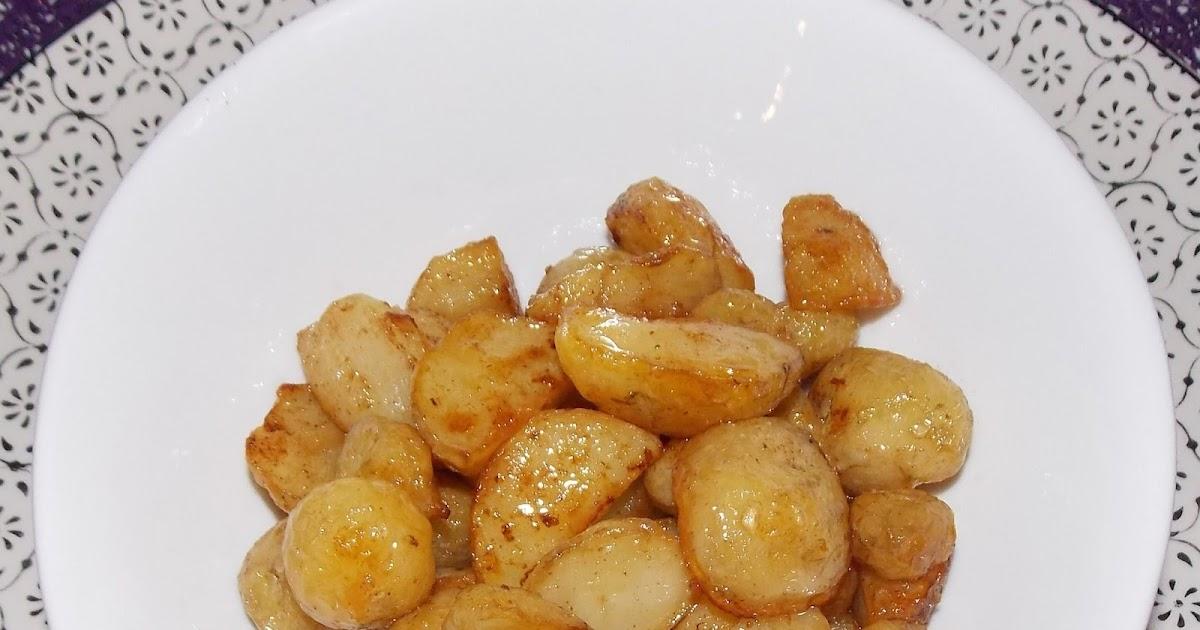 Pommes de terre nouvelles rissolees au beurre demi sel - Pomme de terre au beurre ...