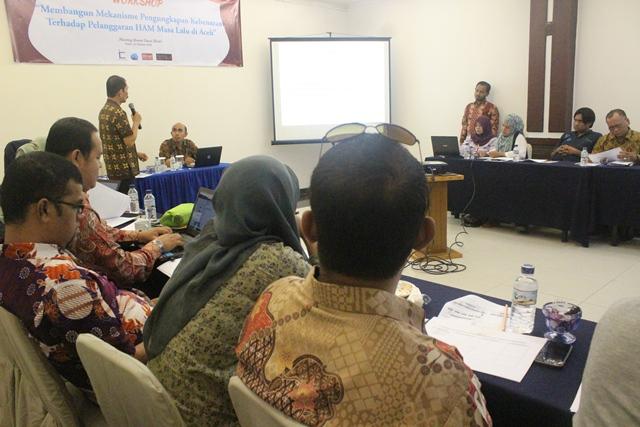 ACSTF Gelar Workshop KKR Aceh