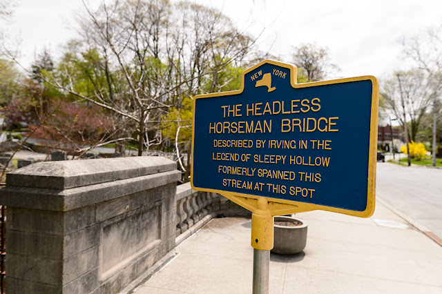 Location of the Headless Horseman Bridge