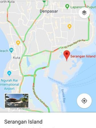 peta pulau serangan bali