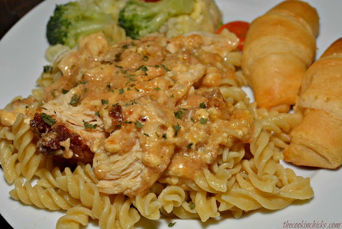 Slow Cooker Ritz Chicken #dinnerrecipe #food #amazingrecipe #easyrecipe