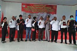 Yowel Warobai Sahkan Korwil KPK-Tipikor Anim Ha dan 5 DPD di Papua Selatan