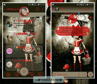 Horror Girls Theme For YOWhatsApp & Fouad WhatsApp By Thania