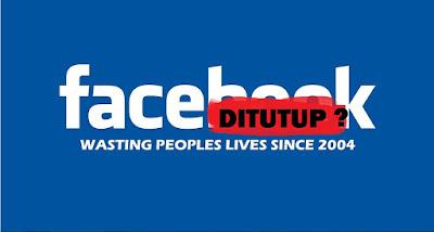 Kabar ditutupnya facebook di indonesia