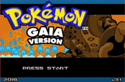 Pokemon Gaia en Español GBA Imagen Portada