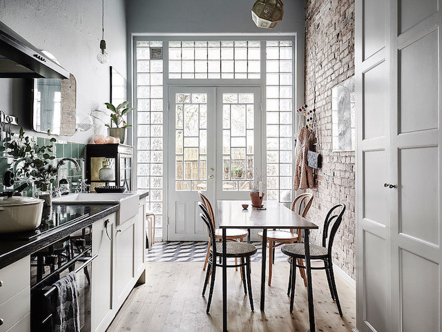 My scandinavian home a romantic swedish home with vintage for Swedish home design