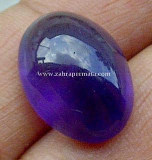 Batu Kecubung Ungu Borneo + Memo - ZP 253