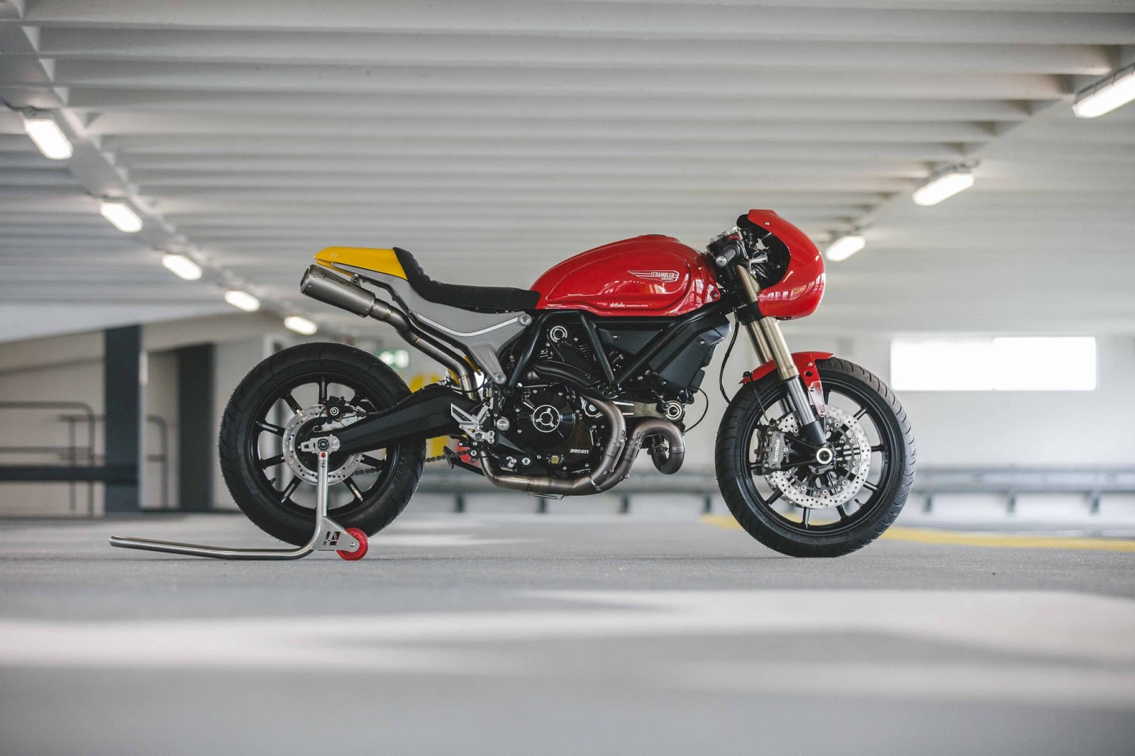 Scrambler Ducati 1100 Debolex Engineering Rocketgarage Cafe