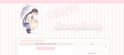 Freebies #2 Template: Creamy Funny