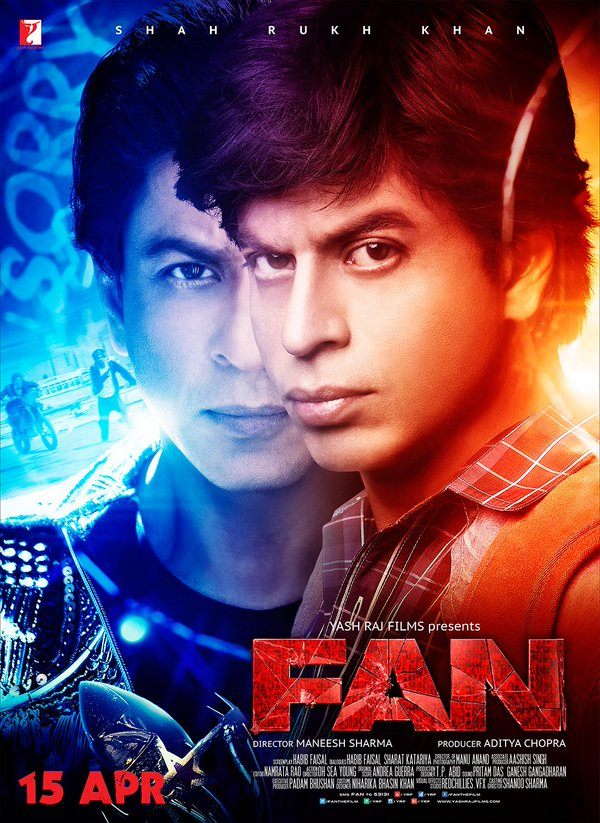 Fan is shah Rukh khan 2016 top Highest Grossing film of his career, Co-Actress N/A