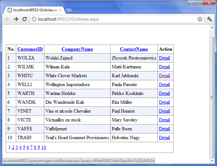 Free ASP NET Source Code & Tutorial: How to encrypt and