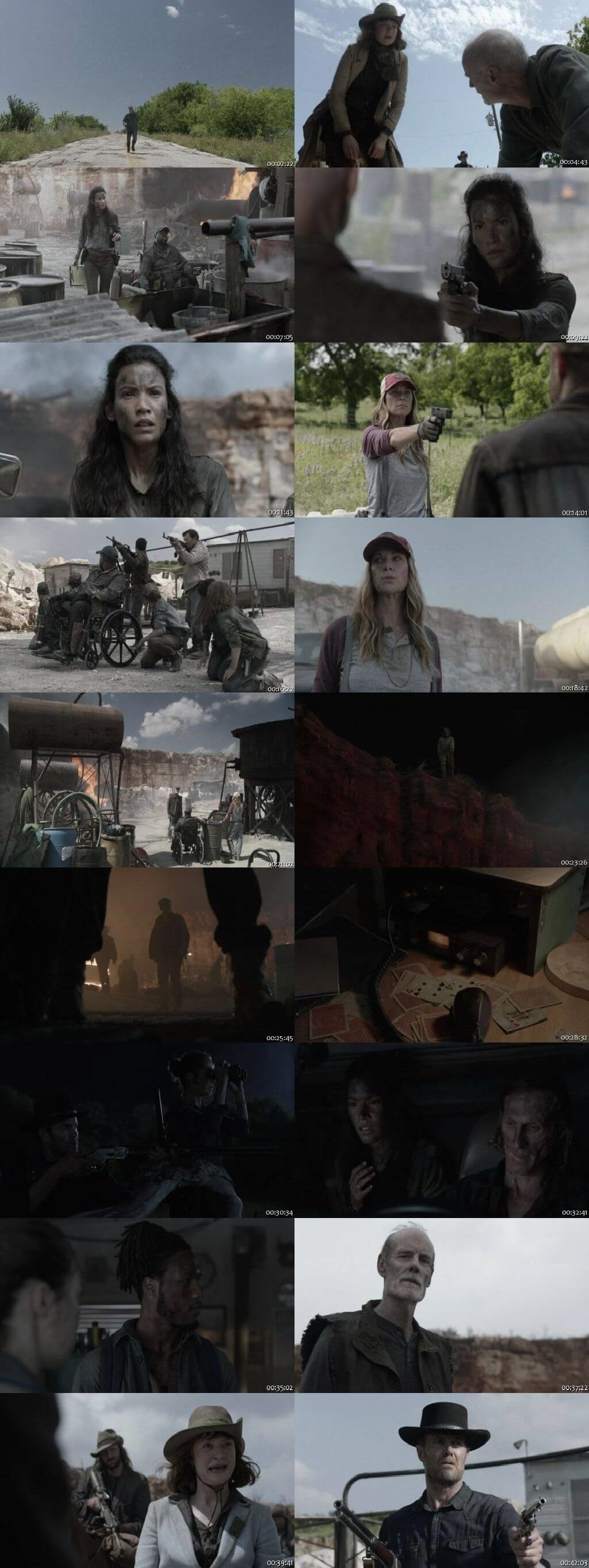 Screenshots Of English Show Fear the Walking Dead Season 05 Episode 13 2019 WEB-DL 720P 300MB