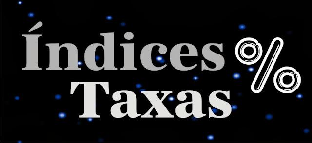 Índices - Taxas