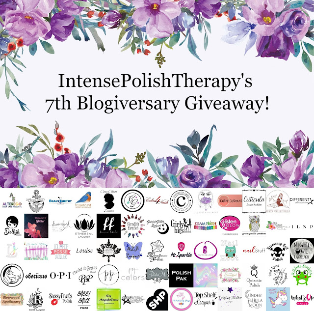 IntensePolishTherapy's 7th Blogiversary Giveaway