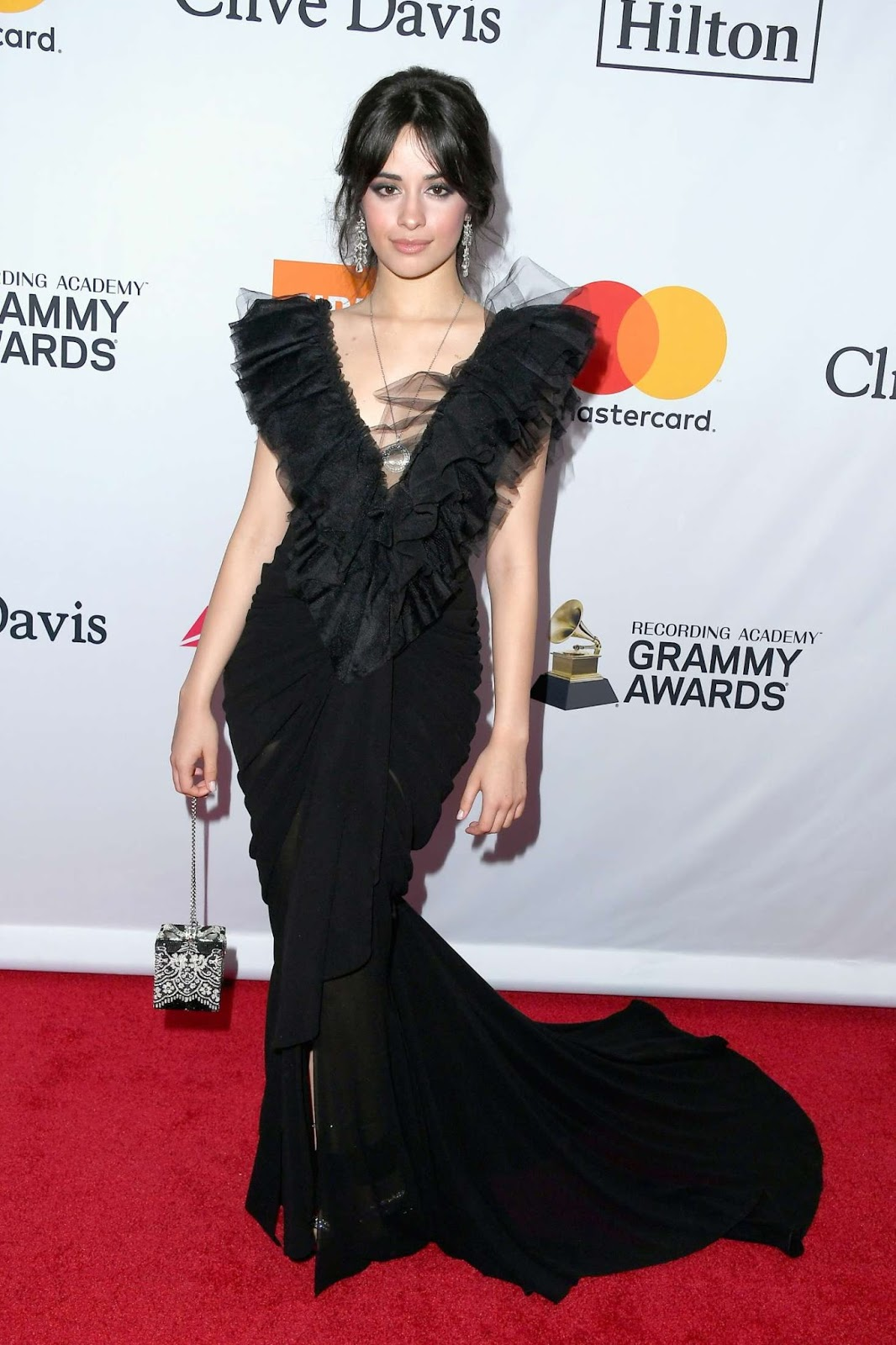 Camila Cabello – 2018 Pre-Grammy Gala and Salute to Industry Icons with Clive Davis in NY