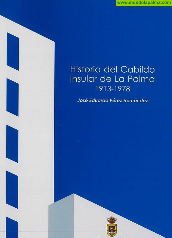 El Cabildo publica un libro sobre la historia de la institución insular desde su constitución en 1913 hasta 1978