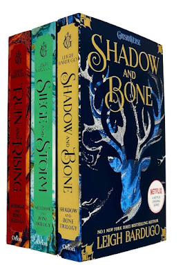 The Shadow and Bone Trilogy by Leigh Bardugo book covers