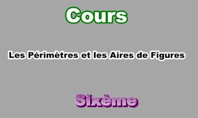 Cours Sur Les Périmètres et les Aires 6eme en PDF