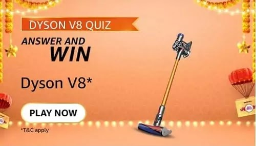 The Dyson V8 vacuum cleaner has upto how many minutes of run time?
