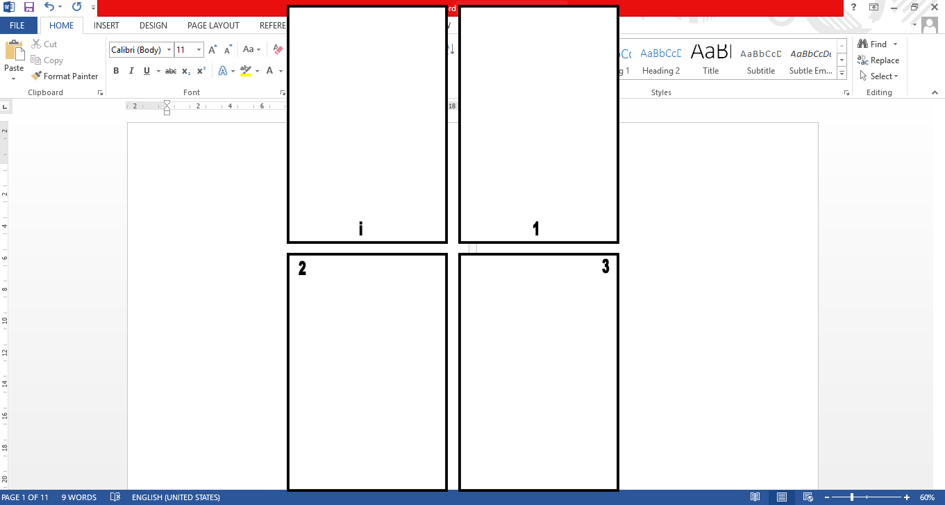 Cara Membuat Page Number Halaman yang Berbeda di Microsoft Word