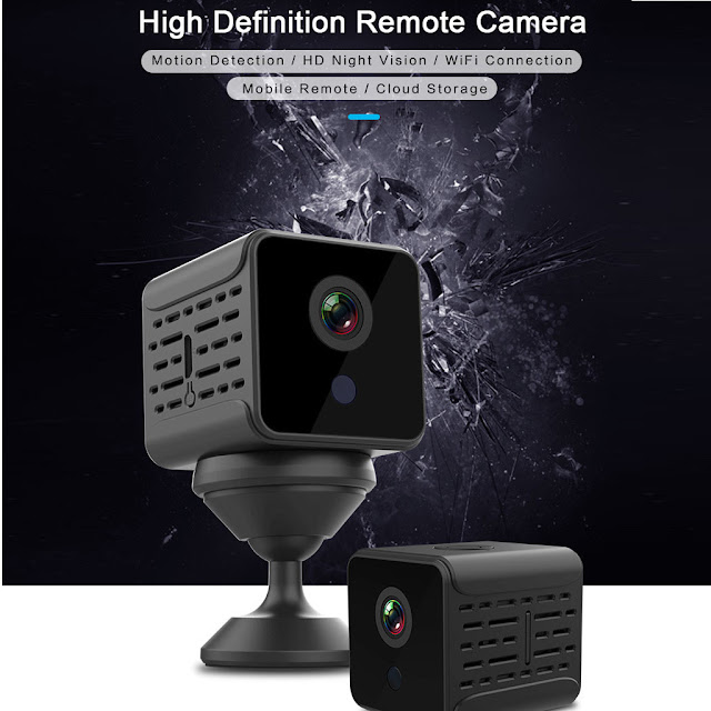 Bakeey WiFi HD 1080P Night Vision Home Security Surveillance Wireless Remote IP Camera For Smart Home