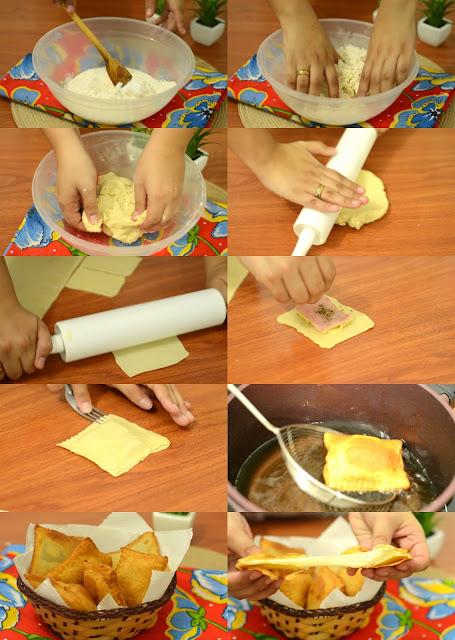massa de pastel fácil