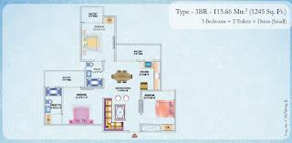 1245-sq.ft.-3bhk-floor-plan-Nirala-Estate