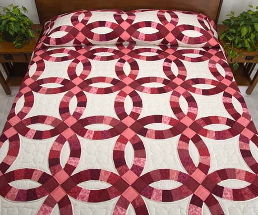 Double Wedding Ring Quilt Free Pattern