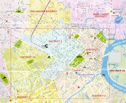 Saigon map