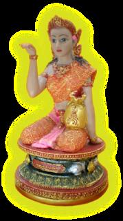 Nang Kwak o Nang Supawadee - diosa tailandesa de la riqueza.