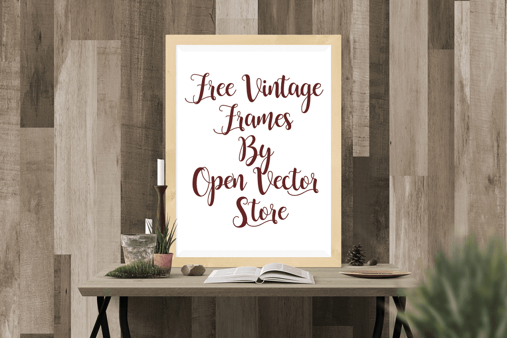 Free Vintage Frames By Open Vector Store