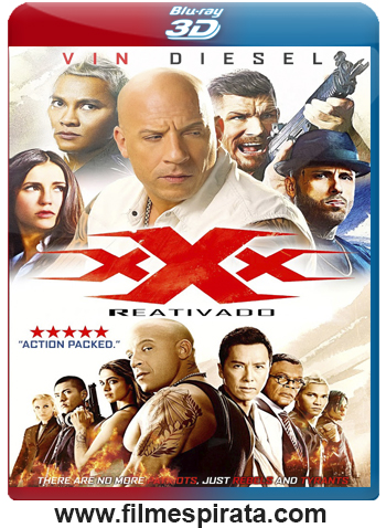 xXx: Reativado Torrent – BluRay Rip 1080p 3D HSBS Dublado (2017)