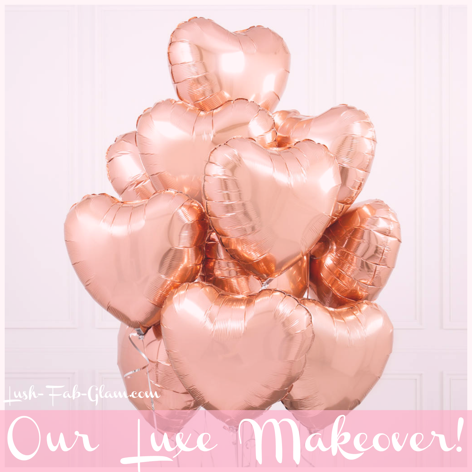 Introducing the new Lush-Fab-Glam.com! See our Luxe website makeover and what's to come.