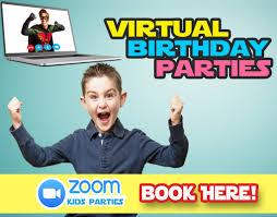 fiestas infantiles virtuales Medellin